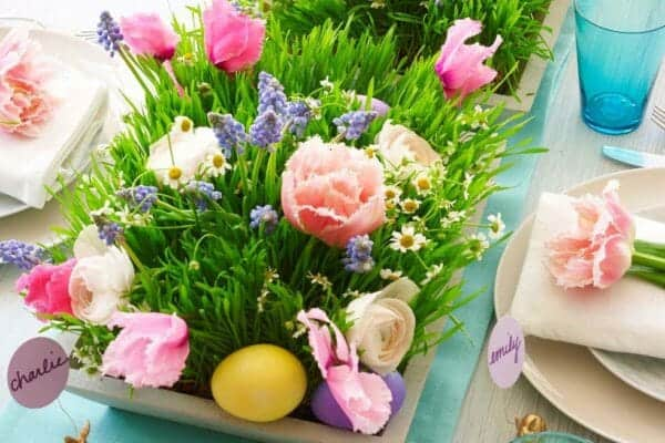featured posts image for 32 Incredibly stylish and inspiring Easter table centerpiece ideas