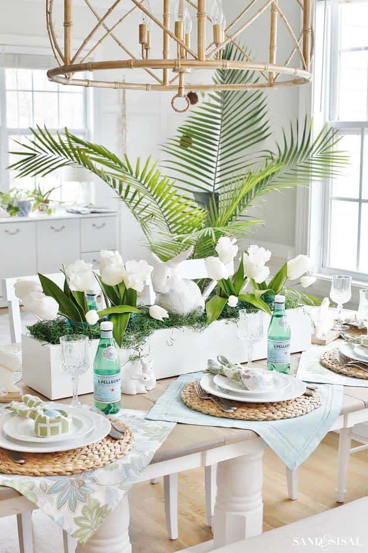 Inspiring Easter Table Centerpiece Ideas-25-1 Kindesign
