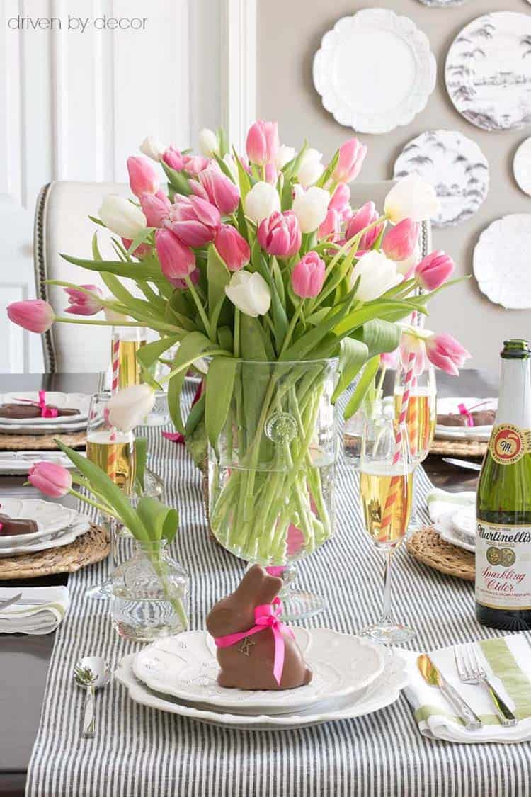 Inspiring Easter Table Centerpiece Ideas-26-1 Kindesign