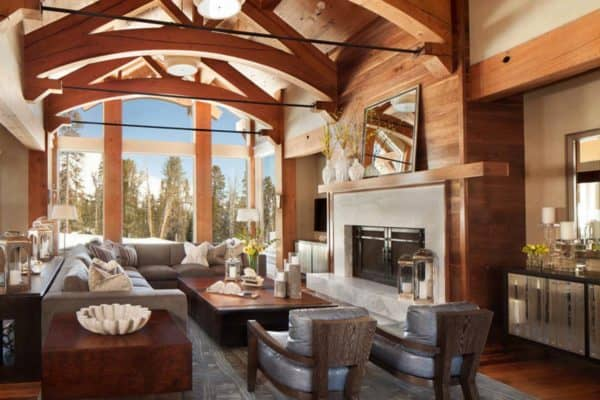 featured posts image for Mountain retreat in Big Sky Country showcases bright, bold interiors