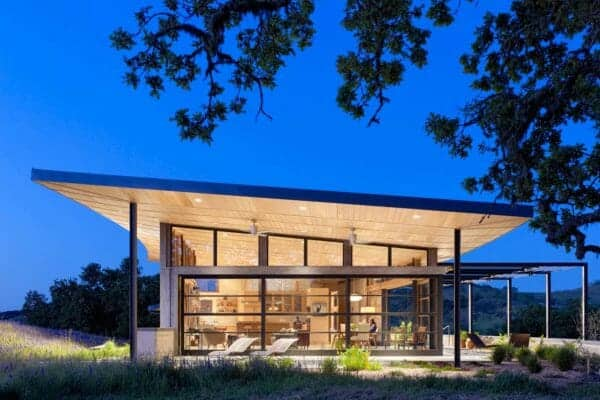 featured posts image for Modern ranch house merges indoor-outdoor living in Santa Lucia Preserve