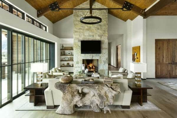 featured posts image for Modern home with rustic touches provides oasis in the Colorado Rockies