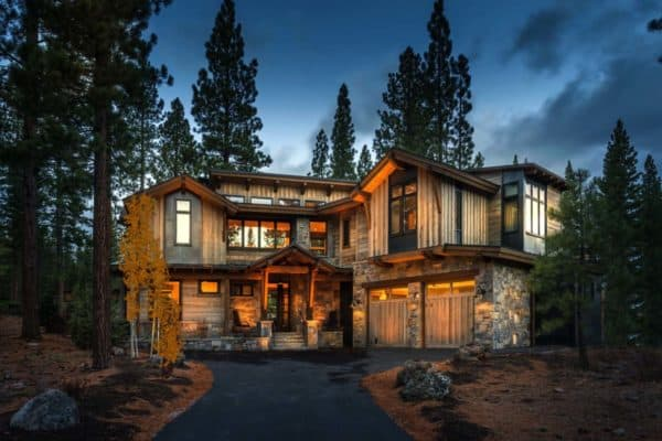 featured posts image for Woodsy mountain cabin in Martis Camp blends modern with rustic