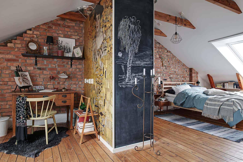 small-apartment-interior-scandinavian-bedroom-closet