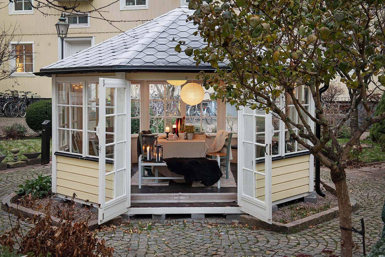 scandinavian-apartment-building-landscape-gazebo
