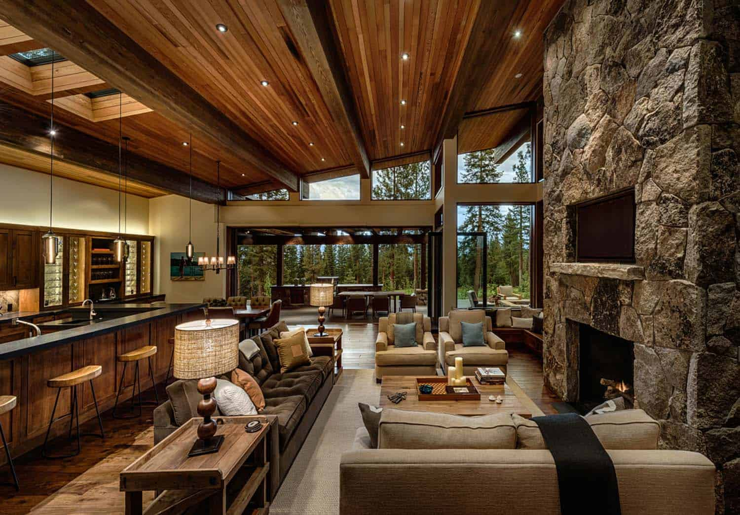 transitional-style-mountain-home-living-room