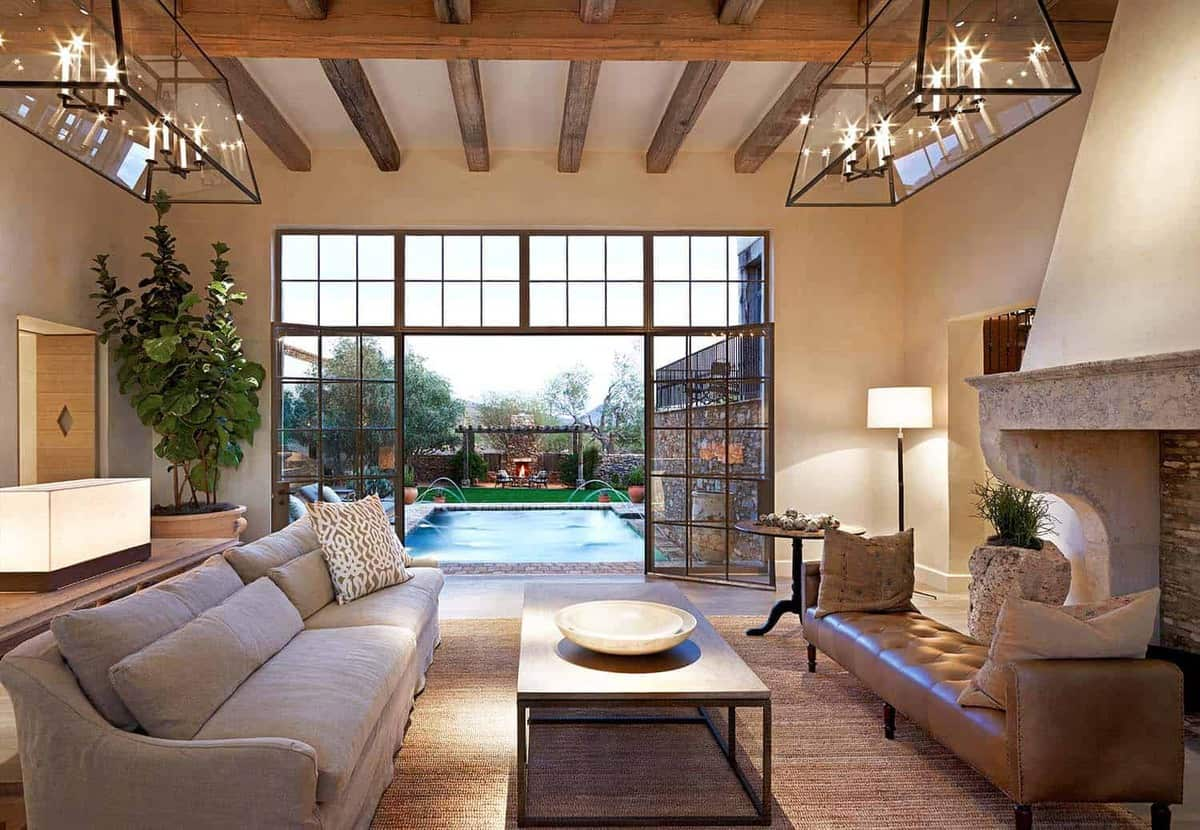 french-farmhouse-living-room