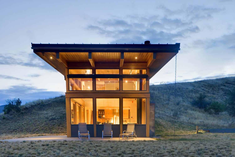 contemporary-cabin-exterior