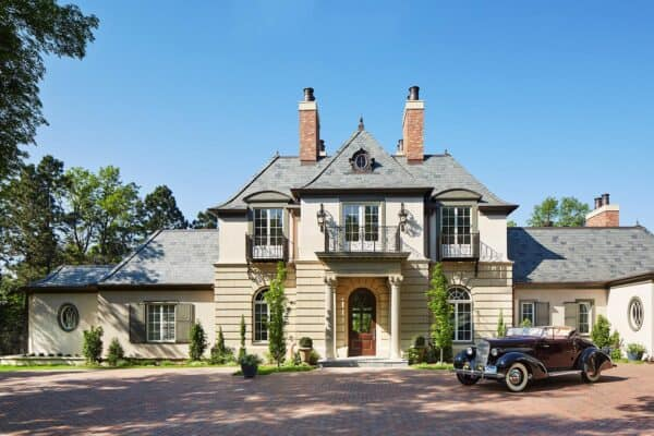 featured posts image for Tour this absolutely stunning French provincial home in South Dakota