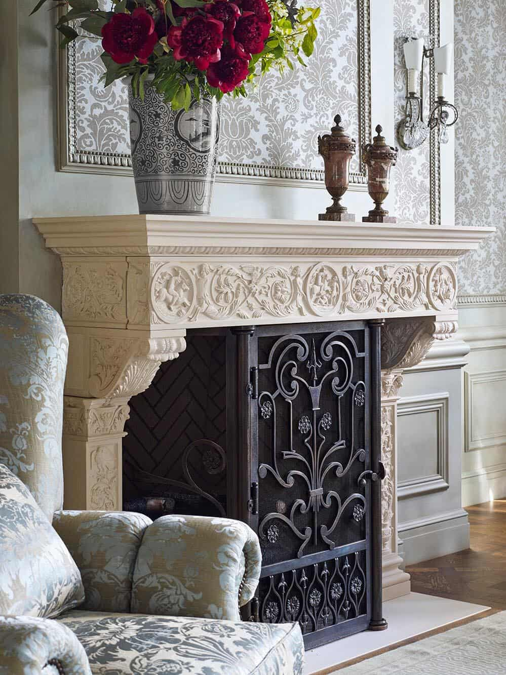 victorian-living-room-fireplace