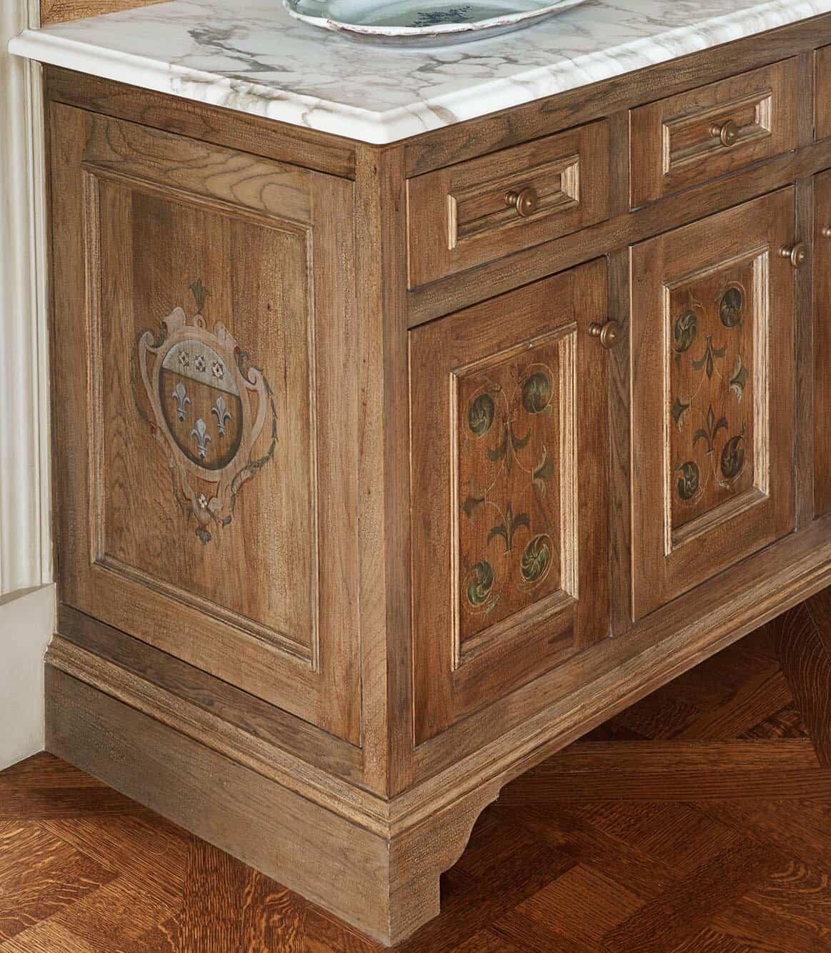 victorian-kitchen-breakfast-nook-furniture-detail