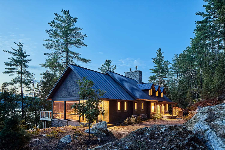 rustic-lake-house-exterior