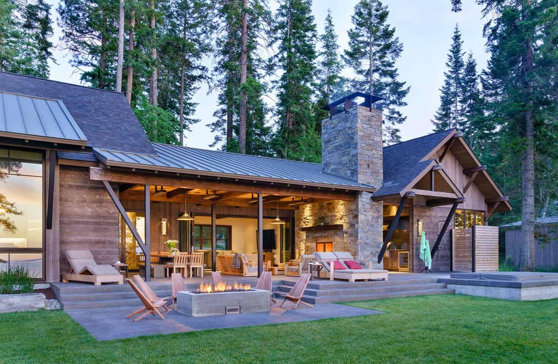 modern-rustic-lake-house-exterior