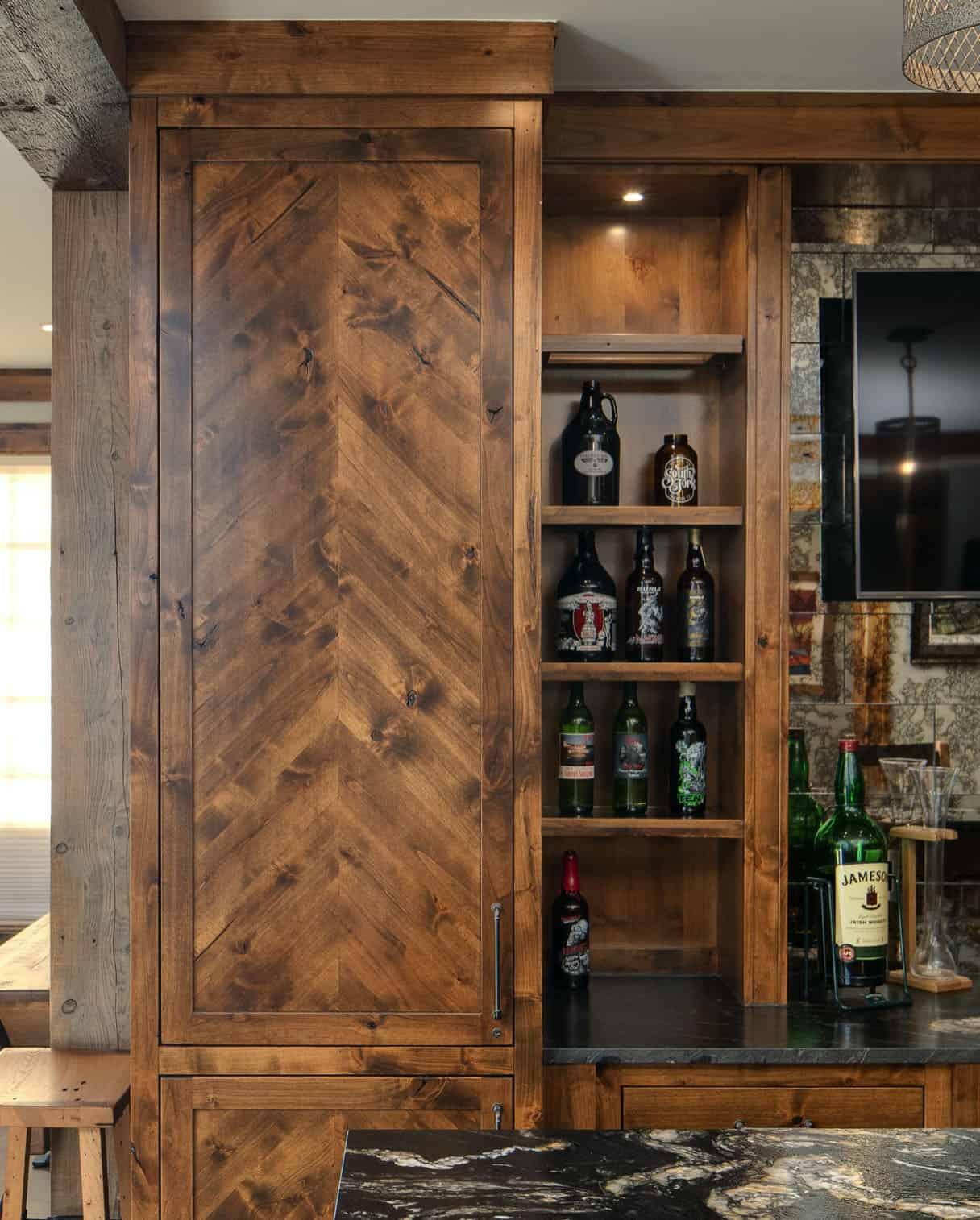 rustic-modern-home-bar