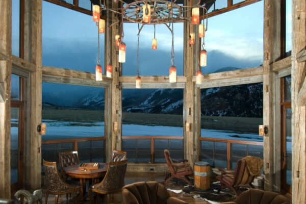 featured posts image for Peaceful rustic refuge nestled in majestic Beartooth Mountains, Montana