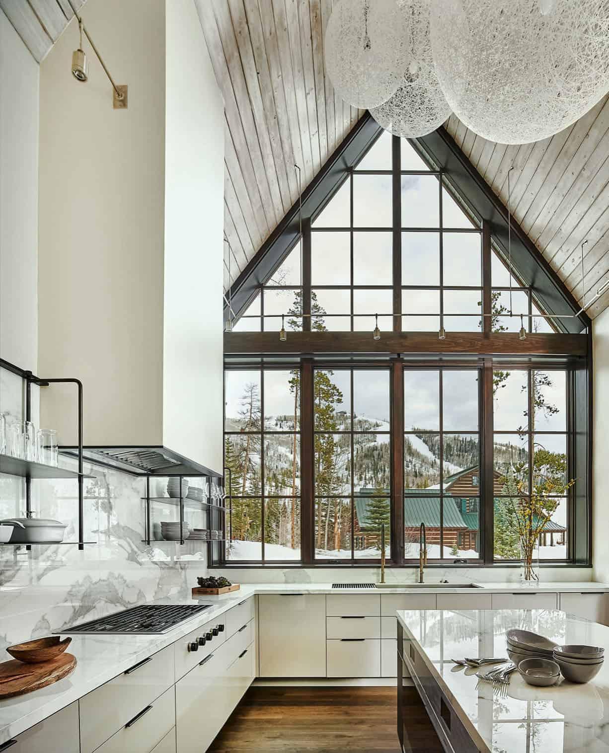 a-frame-cabin-kitchen