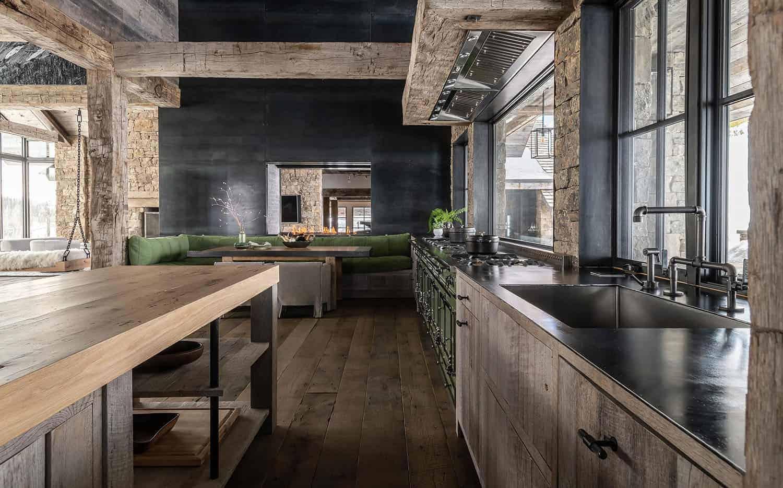 rustic-modern-mountain-kitchen
