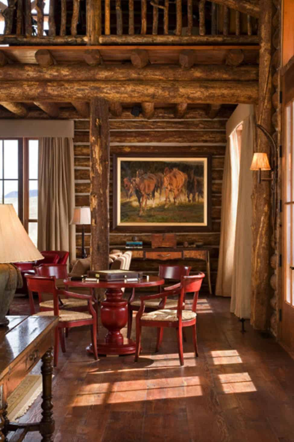 rustic-ranch-living-room-game-table
