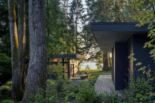 featured posts image for Serene cabin retreat tucked in the forest next to Washington's Hood Canal