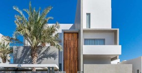 Contemporary three level home on Amwaj Island, Bahrain