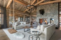 A rustic chic family hideaway in Big Sky: Freedom Lodge